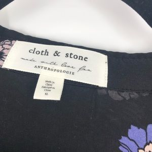 Anthropologie Tops - Anthropologie Cloth & Stone Tavira Rayon Blouse